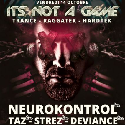 Soirée clubbing It's not a Game Vendredi 14 octobre 2016