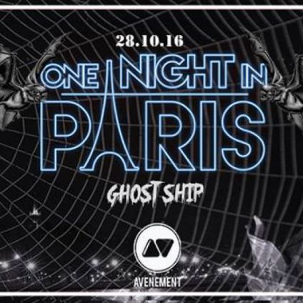 Soirée étudiante One Night In Paris  Vendredi 28 octobre 2016