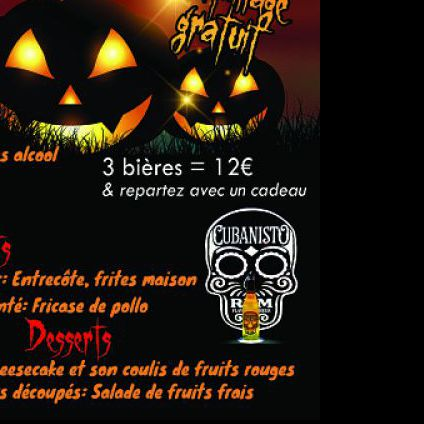 After Work Soirée Halloween  Lundi 31 octobre 2016