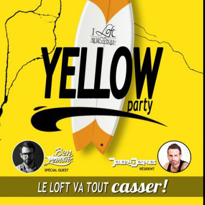 Soirée clubbing YELLOW PARTY - BEN LEMONZ LIVE Vendredi 21 octobre 2016