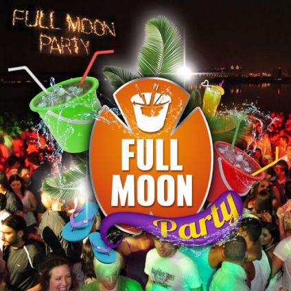 Soirée clubbing FULL MOON 'Bucket Party'  Vendredi 09 decembre 2016