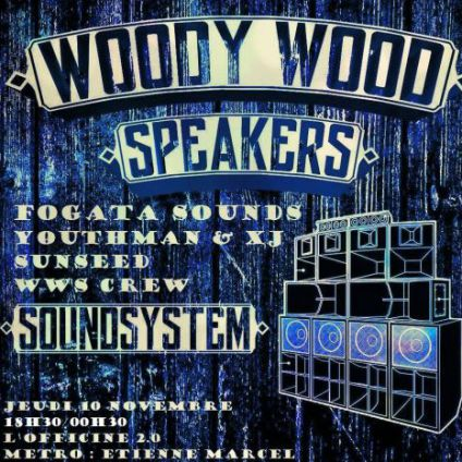 After Work Woody Wood Speakers le 10 Novembre @Officine 2.0 Jeudi 10 Novembre 2016