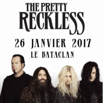 Concert THE PRETTY RECKLESS Jeudi 26 janvier 2017