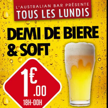 Before TOUS LES LUNDIS ! MONDAY MADNESS ! Lundi 22 mai 2017