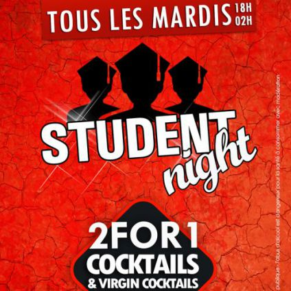 Before STUDENT NIGHT ! Mardi 13 decembre 2016