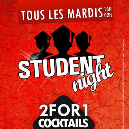 Before STUDENT NIGHT ! Mardi 25 avril 2017