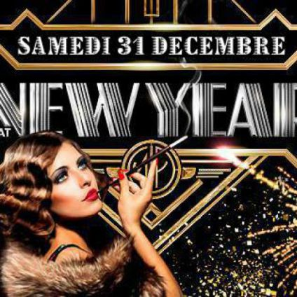 Soirée clubbing The Great Gatsby New Year's eve 2017 Samedi 31 decembre 2016