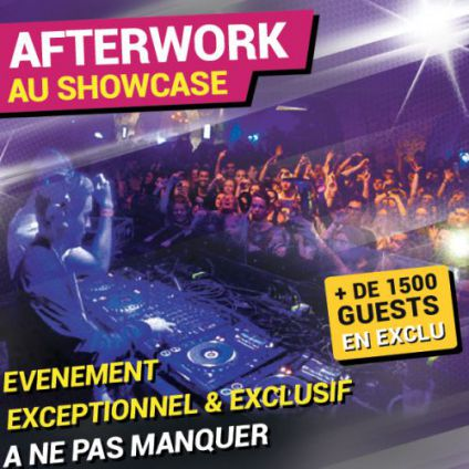 After Work AFTERWORK AU SHOWCASE EXCEPTIONNEL, EXCLUSIF ET UNIQUE Jeudi 01 decembre 2016