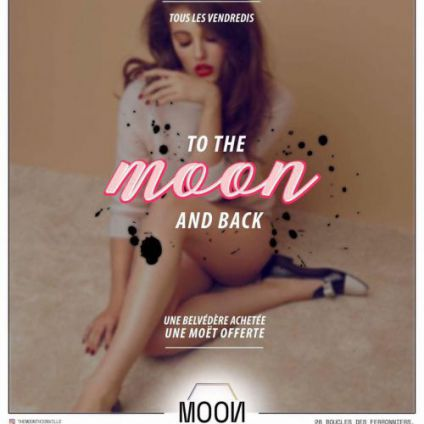 Soirée clubbing TO THE MOON AND BACK Vendredi 13 janvier 2017