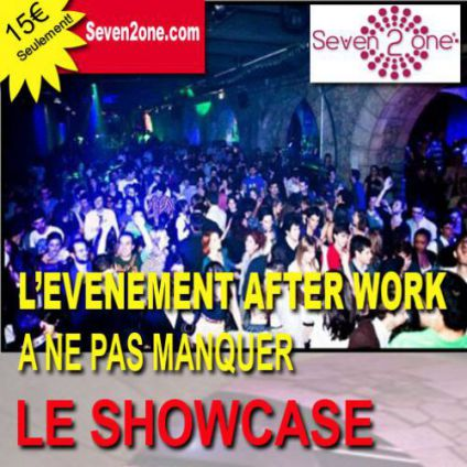 After Work AFTER WORK AU SHOWCASE, DATE EXCEPTIONNELLE Jeudi 15 decembre 2016