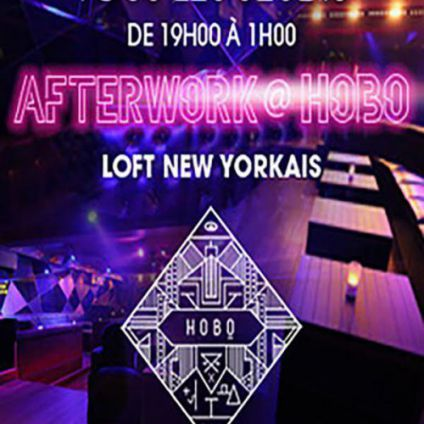 After Work AFTERWORK AU HOBO CLUB CHAMPS ELYSEES Jeudi 15 decembre 2016
