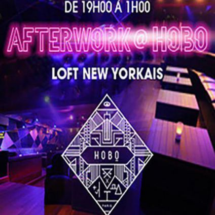 After Work AFTERWORK @ HOBO CLUB CHAMPS ELYSEES Jeudi 22 decembre 2016