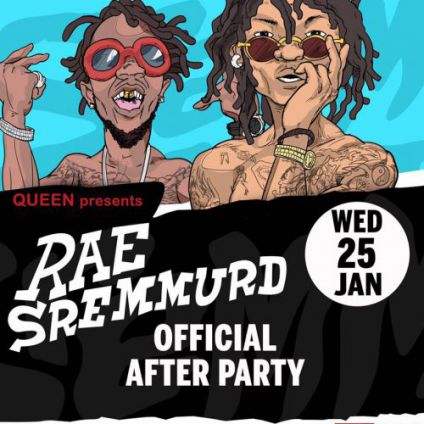 Soirée clubbing Rae Sremmurd Official After Party Mercredi 25 janvier 2017