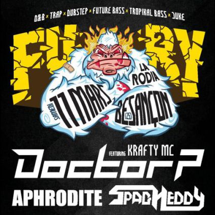 Concert Fury # 2 - Doctor P / Aphrodite / Spag Heddy / XtronX and more Samedi 11 mars 2017