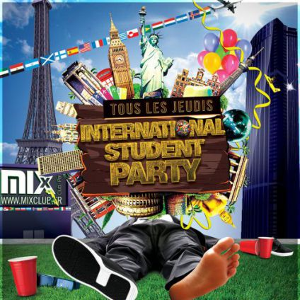 Soirée étudiante INTERNATIONAL STUDENT PARTY @ Mix Club Jeudi 23 fevrier 2017