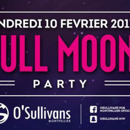 Before ???? FULL MOON PARTY ???? Vendredi 10 fevrier 2017