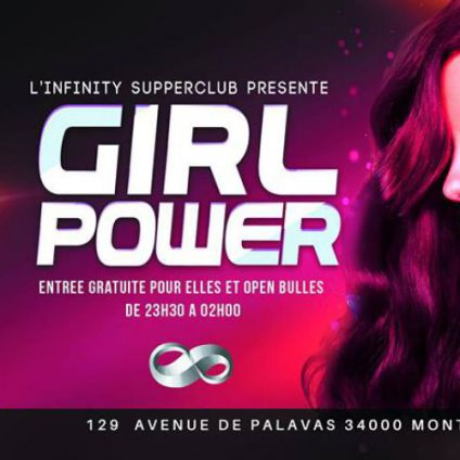Girl power  L'infinity superclub