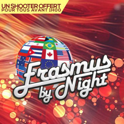 Erasmus by night : gratuit / free California avenue