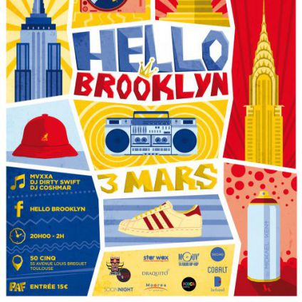 Before Hello Brooklyn Vendredi 03 mars 2017