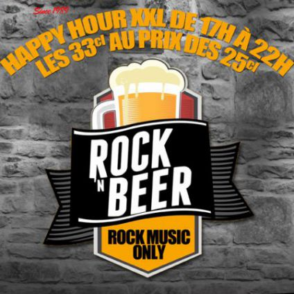 After Work Happy Dj Hour Rock'n Beer by Dj Paris Animations Mercredi 22 fevrier 2017