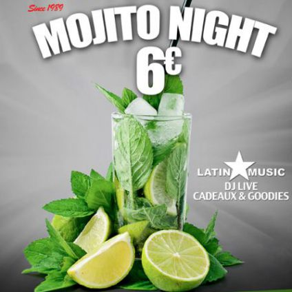 After Work Happy Mojito Night By Dj Paris Animations Jeudi 23 fevrier 2017