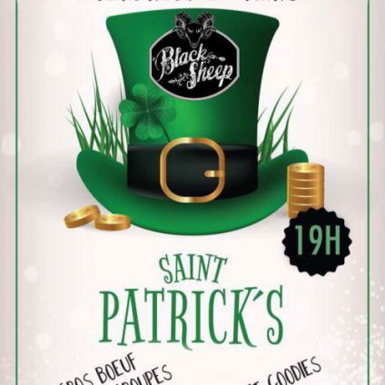 Before St-Patrick's Day - Black Sheep Vendredi 17 mars 2017