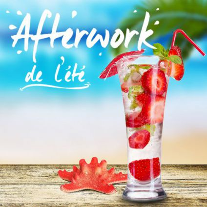 After Work L'afterwork de l'été  Mercredi 20 septembre 2017