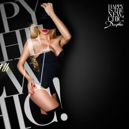 Soirée clubbing HAPPY IS THE NEW CHIC Lundi 27 mars 2017
