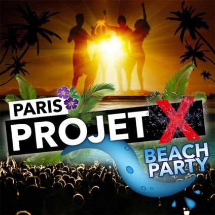 Projet x beach party  California avenue