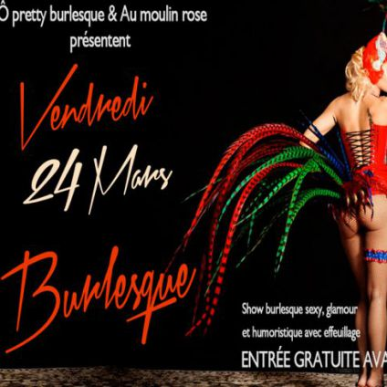 Autre Burlesque Party Vendredi 24 mars 2017