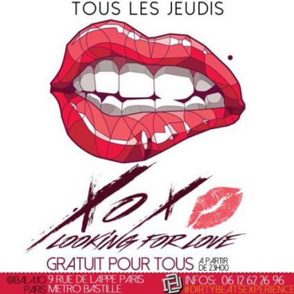 Soirée clubbing LOOKING FOR LOVE  Jeudi 04 mai 2017