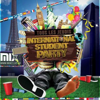 Soirée étudiante INTERNATIONAL STUDENT PARTY  Jeudi 27 avril 2017