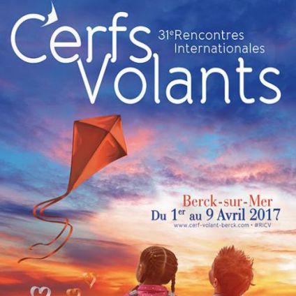 Festival 31èmes Rencontres Internationales de Cerfs-Volants Dimanche 09 avril 2017