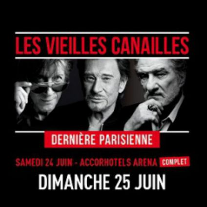 Les vieilles canailles	 Accorhotels arena