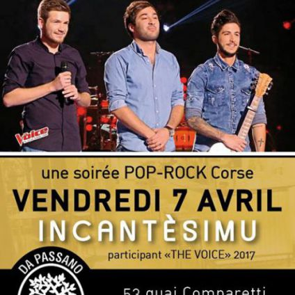 Before Incantèsimu au Da Passano ! Vendredi 07 avril 2017