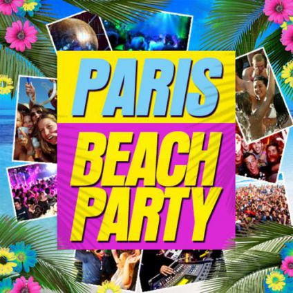 Paris beach party Hide chatelet