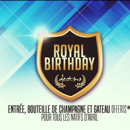 ♛ royal birthday avril ♛ Destino club