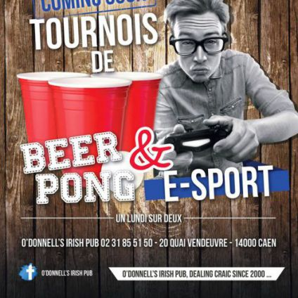 Beer-pong & e-sport O'donnell's irish pub