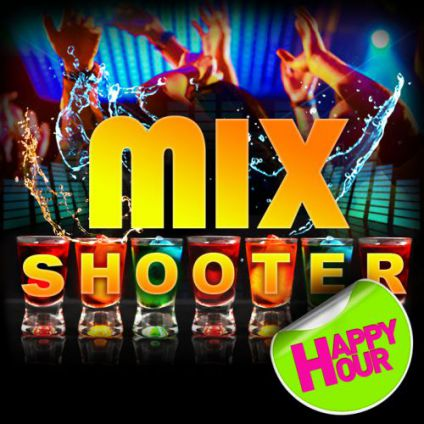 Soirée clubbing MIX SHOOTER PARTY Samedi 23 septembre 2017