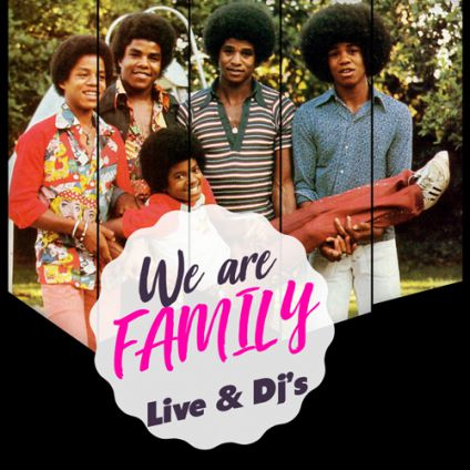 We are family : live band & dj's Bizz'art