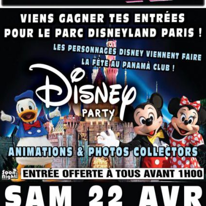 Disney Party PANAMA CLUB