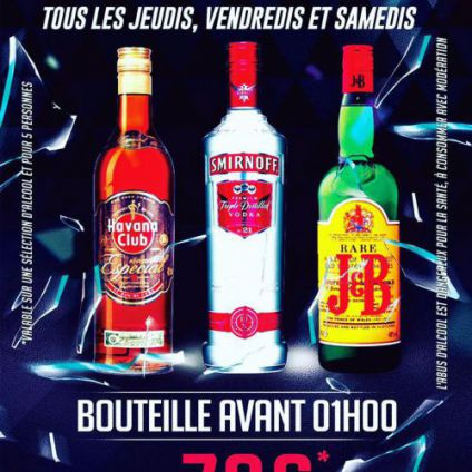 Bottle night Pavillon