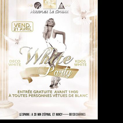 White Party Sphinx