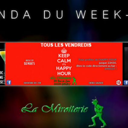 Before Keep Calm, it's Happy Hour Vendredi 07 juillet 2017
