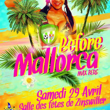 Before ☆☆ ☆ Before Mallorca☆ ☆ ☆ Samedi 29 avril 2017