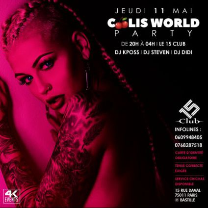 After Work Coolie World Party Jeudi 11 mai 2017