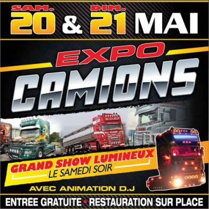 Expo camions Trianon Club