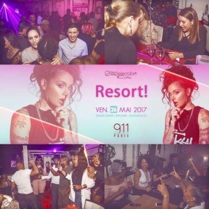 911 paris 'resort' 21 only  Nuits blanches club