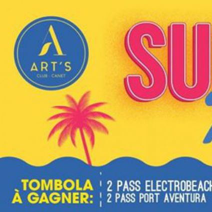 Summer party 2k17 Art's club canet