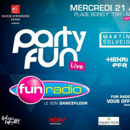 Concert PARTY FUN LIVE Mercredi 21 juin 2017